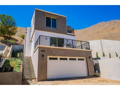 Woodland Hills Single Family Home For Sale: 4969 Llano Drive