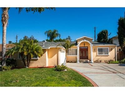 Encino Single Family Home For Sale: 4938 Alonzo Avenue