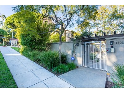 Santa Monica Condo/Townhouse For Sale: 1301 Franklin Street #12