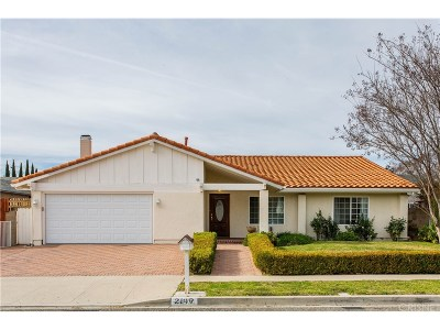 Simi Valley Single Family Home For Sale: 2149 Marter Avenue