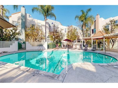 Sherman Oaks Condo/Townhouse For Sale: 5455 Sylmar Avenue #1002