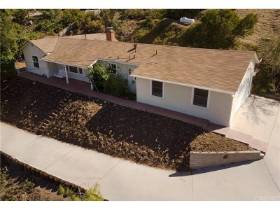 Tujunga Single Family Home For Sale: 7240 Tranquil Place