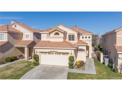 Newhall Single Family Home For Sale: 19431 San Marino Court