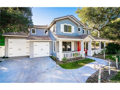 Single Family Home For Sale: 27827 Rolling Hills Avenue