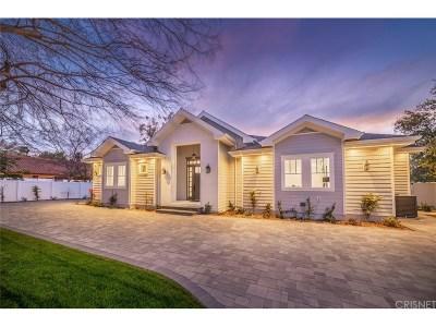 Tarzana Single Family Home For Sale: 5401 Vanalden Avenue