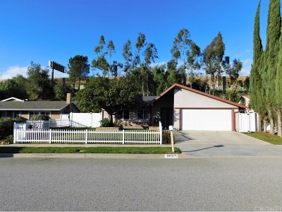 Simi Valley Single Family Home For Sale: 6373 Keystone Street