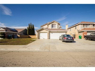 Palmdale Single Family Home For Sale: 3315 Conestoga Canyon Road