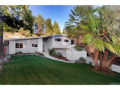 Tarzana Single Family Home For Sale: 19545 Valdez Drive