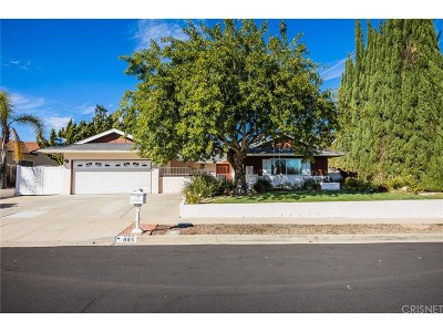 Thousand Oaks Single Family Home Active Under Contract: 985 Calle Contento