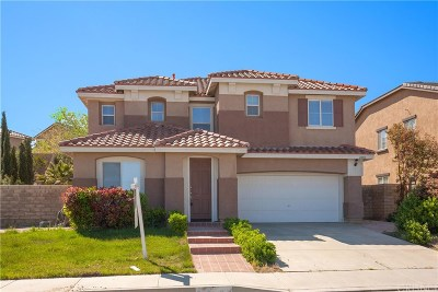 Palmdale Single Family Home For Sale: 2400 Carolyn