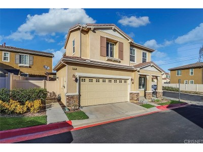 Newhall Single Family Home For Sale: 20425 Remer Court #19