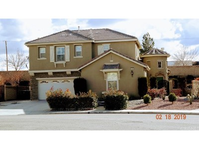 Palmdale Single Family Home For Sale: 4708 Chalone Drive