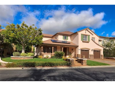 Simi Valley Single Family Home For Sale: 2844 Yurok Court