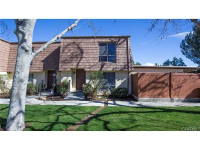 Agoura Hills Condo/Townhouse For Sale: 4120 Yankee Drive