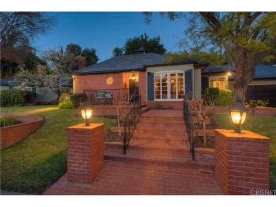 Encino Single Family Home Active Under Contract: 4132 Hayvenhurst Drive