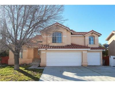 Palmdale Single Family Home For Sale: 37635 Arlington Court