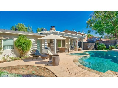 Calabasas CA Single Family Home For Sale: $800,000