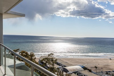 Santa Monica Condo/Townhouse For Sale: 201 Ocean #1209P