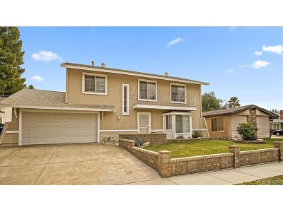Saugus Single Family Home For Sale: 20874 Alaminos Drive