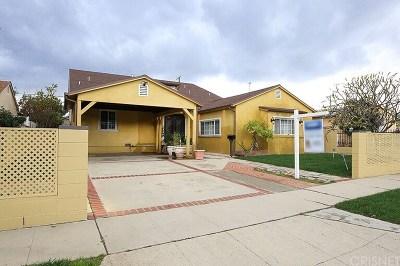 Arleta Single Family Home For Sale: 9107 Bartee Avenue
