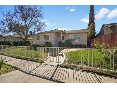 Encino Single Family Home For Sale: 17426 Martha Street