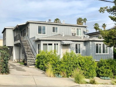 Los Angeles County Residential Income For Auction: 707 Strand Street