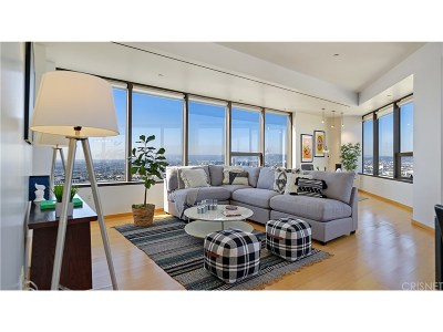 Condo/Townhouse For Sale: 1100 Wilshire Boulevard #2602