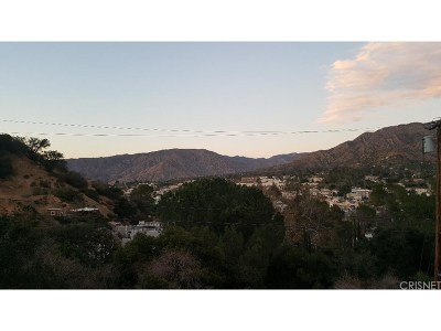Tujunga Residential Lots & Land For Sale: Highcliff Trail.