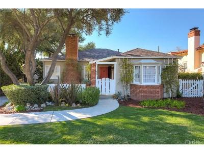 Glendale Single Family Home For Sale: 421 Waltonia Drive