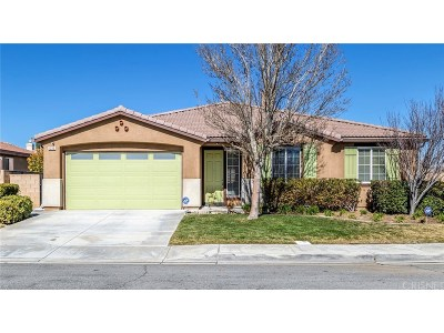 Palmdale Single Family Home For Sale: 1233 Wellington Drive