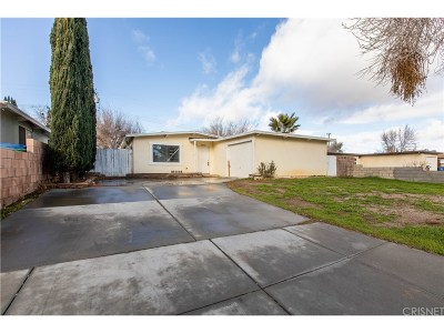 Palmdale Single Family Home For Sale: 38627 Stanridge Avenue