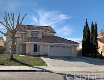 Lancaster Single Family Home For Sale: 44453 Avenida Del Rio