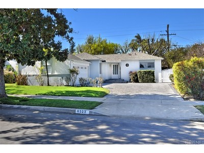 Tarzana Single Family Home For Sale: 6323 Canby Avenue