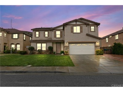 Palmdale Single Family Home For Sale: 37242 Kingcup