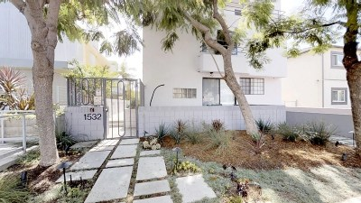 Los Angeles County Condo/Townhouse Active Under Contract: 1532 9th Street #7