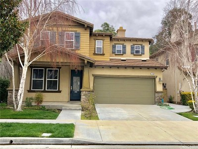 Valencia Single Family Home For Auction: 27544 Weeping Willow Drive