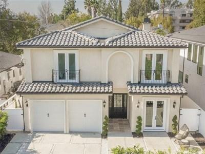 Studio City Single Family Home For Sale: 4535 Ben Ave
