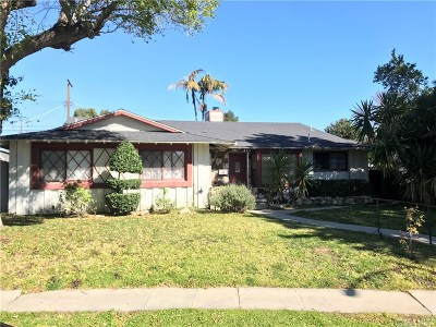 Granada Hills Single Family Home Active Under Contract: 16633 Ludlow Street
