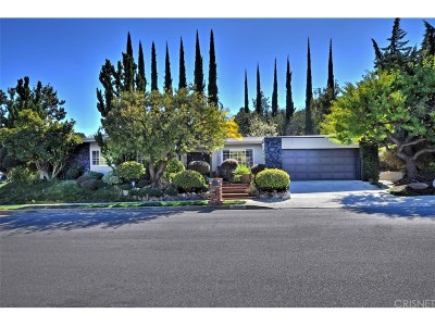 Tarzana Single Family Home For Sale: 4434 Nogales Drive
