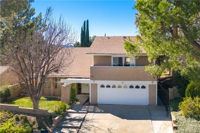 Valencia Single Family Home For Sale: 23142 Frisca Drive