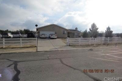 Littlerock Single Family Home For Sale: 12810 East Avenue X
