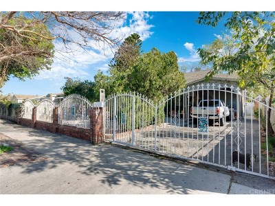 Pacoima Single Family Home Active Under Contract: 13246 Garber Street