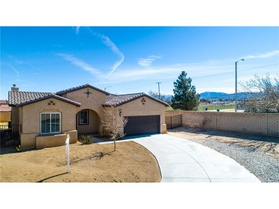 Palmdale Single Family Home For Sale: 36402 50th Street East