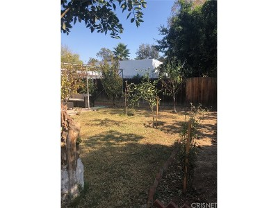 Van Nuys Single Family Home For Sale: 17610 Runnymede Street