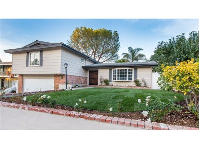 Newhall Single Family Home Active Under Contract: 26514 Oak Crossing Road