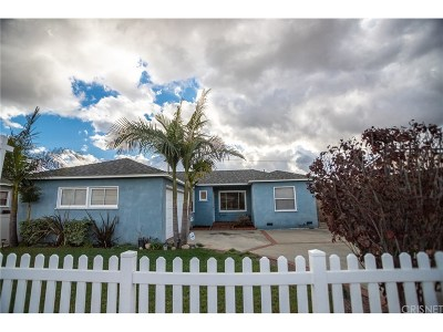 Arleta Single Family Home Active Under Contract: 9055 Varna Avenue