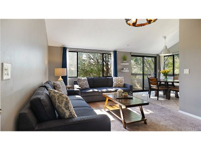 Canyon Country Condo/Townhouse Active Under Contract: 27945 Tyler Lane #344