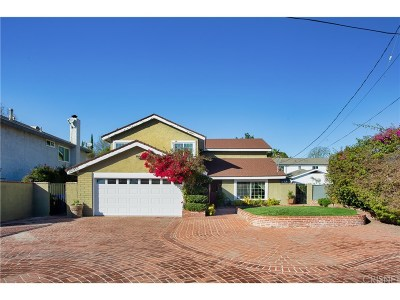 Woodland Hills Single Family Home Active Under Contract: 22955 Collins Street