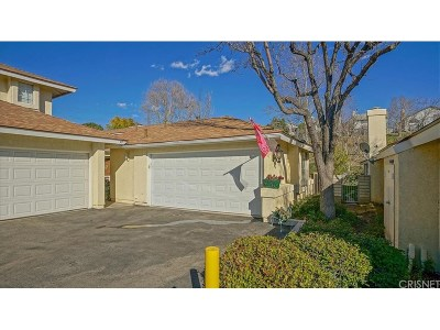 Saugus Condo/Townhouse Active Under Contract: 28343 Seco Canyon Road #99