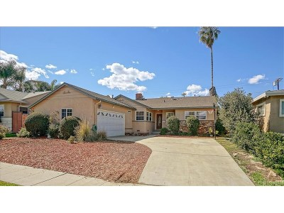 Reseda Single Family Home For Sale: 6545 Bothwell Road